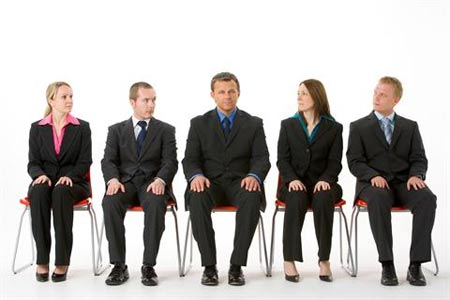 Candidatos procuram emprego Internet