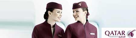 Trabalhar como assistente de cabine nos voos da Qatar Airways