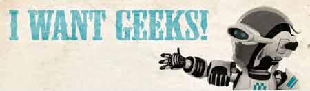 I Want Geeks - Recrutamento Informática, Telecomunicações e Tecnologias