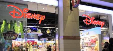 Trabalhar numa loja Disney Store em Portugal
