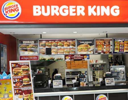 Recrutamento Burger King Portugal - Enviar Candidatura