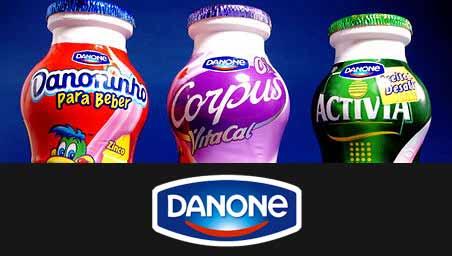 Danone Portugal Recrutamento para trabalhar na produção de iogurtes