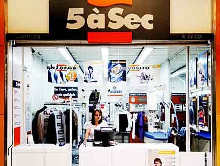5àSec Portugal Recrutamento - Trabalhar no setor da limpeza a seco