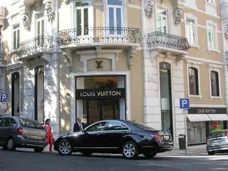 Empregos em empresas e lojas de Luxo na Avenida da Liberdade