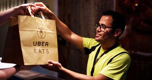 Emprego Uber Eats