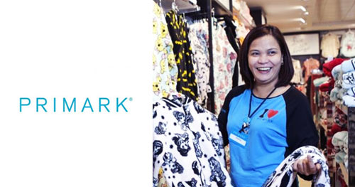 Empregos Lojas Primark
