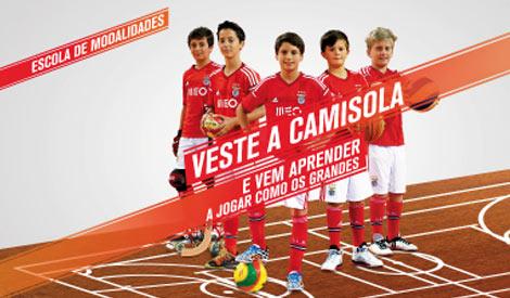 Ofertas de Emprego nas Escolas de Modalidades do Benfica