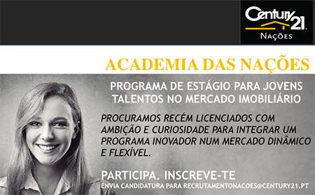 Programa de Estágio Academia das Nações - Century 21 Nações