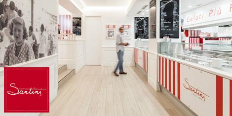 Loja de gelados Santini no Porto está a recrutar novos colaboradores