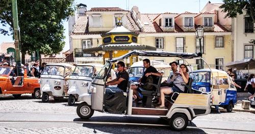 Trabalhar como Motorista Tuk Tuk em Lisboa