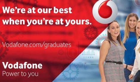 Ofertas de Emprego Programa Discover Vodafone Graduates