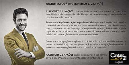 Ofertas de Emprego na CENTURY 21 do Parque das Nações